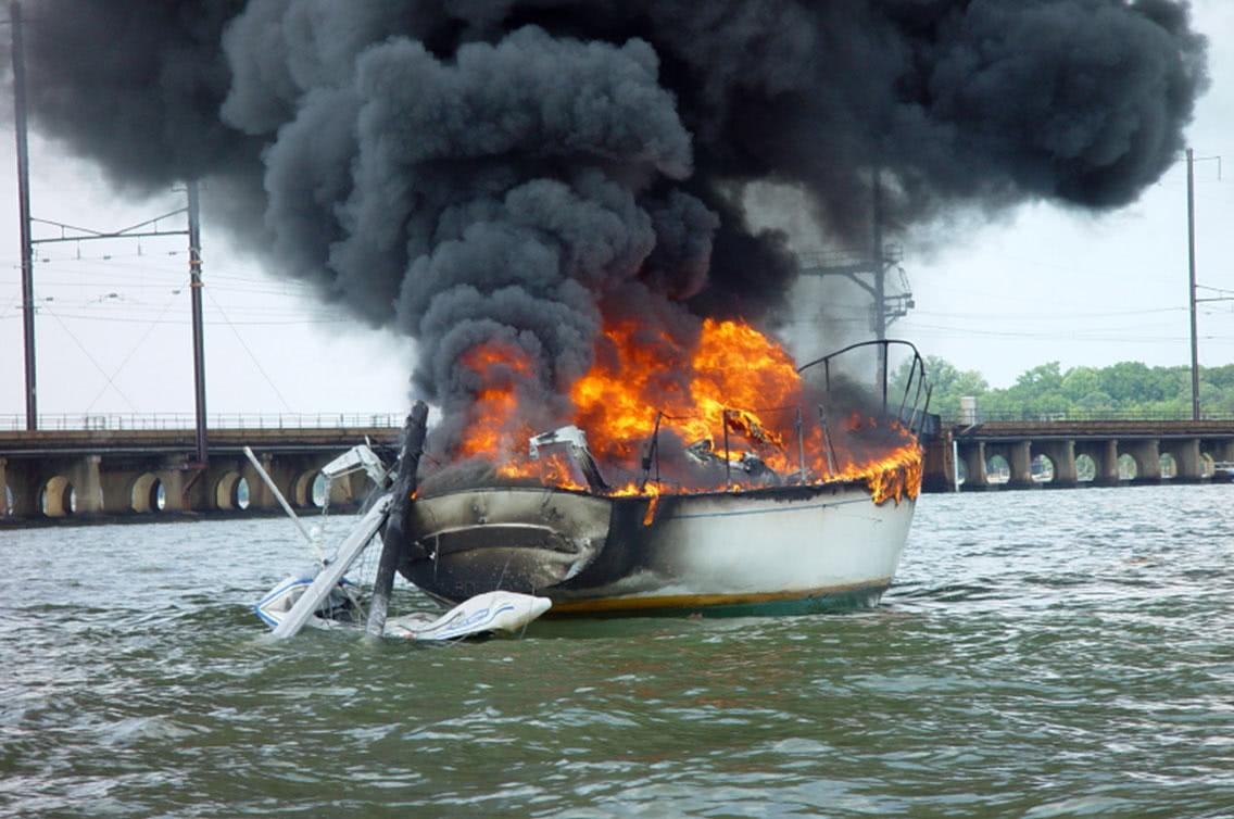 fire on board