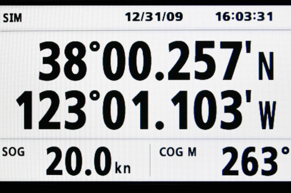 GPS Anzeige
