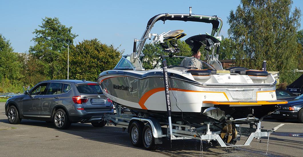 Trailerboot Antifouling