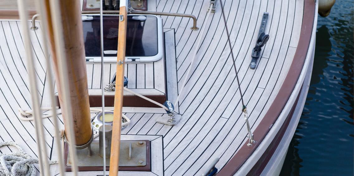 Deck aus Holz
