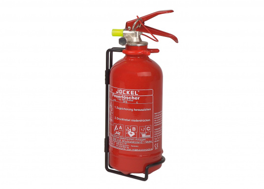 Powder Fire Extinguisher / 1 kg / ABC fire rating / manual