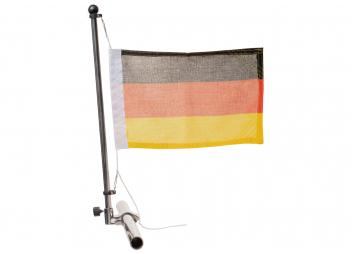 Flag Pole with Rail Mount