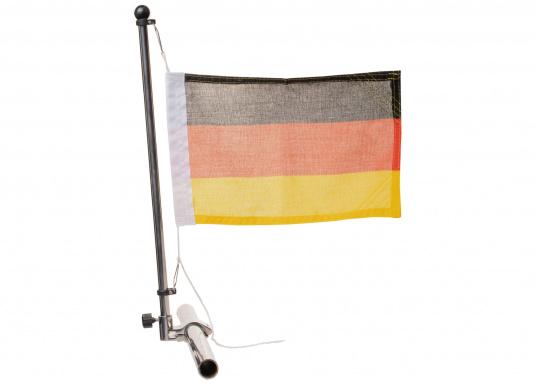 Flag Pole with Rail Mount