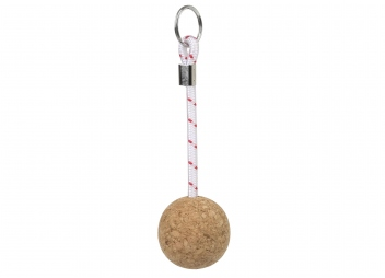Cork Ball Key Charm