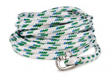 Pre-Spliced Halyard Rope with snap-shackle