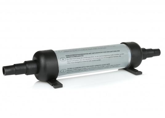 Carbon filter for blackwater