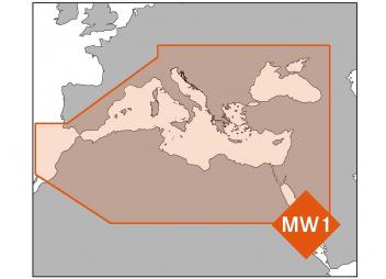 Mediterranean and Black Sea MW1