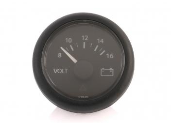 Viewline Voltmeter / 8 - 16 V / black
