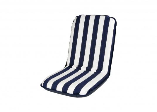 Comfort Seat - blau-weiß gestreift