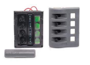 Tableaux électriques avec fusibles ATO / 4 sections