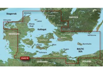 BlueChart G3 EU021R Dänemark Ost - Schweden Südost