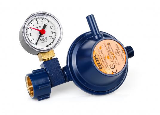 Gasdruckregler 50 mbar / Marine / gerade