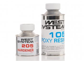 Fast Hardener 205 and Epoxy Resin 105 / 0.6 kg