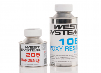 Fast Hardener 205 and Epoxy Resin 105