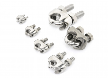 Stainless Steel Wire Rope Clamps