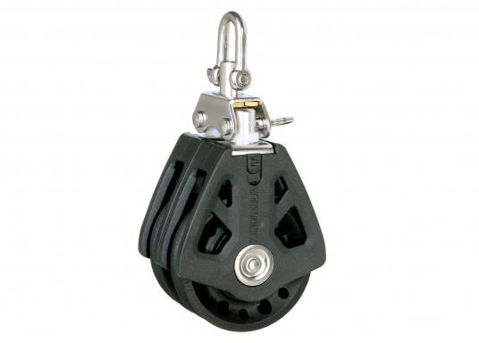 Double Block with Swivel / 6 mm / plain bearing