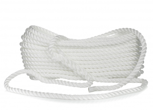 GeoProp Tow Rope, Pre-Spliced / white