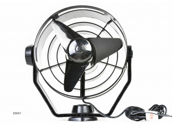 Ventilateur TURBO / noir
