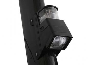 Masthead Light / Deck Flood Light / black