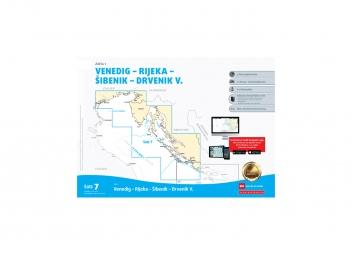 Kartensatz 7 - Venedig, Rijeka, Sibenik, Drvenik