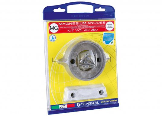 Magnesium Anoden - Sets für Z-Antriebe