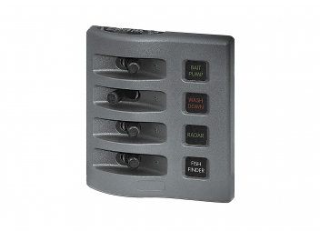 Weatherproof Control Panel / 4-Section