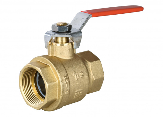 Ball Valve, Brass CR