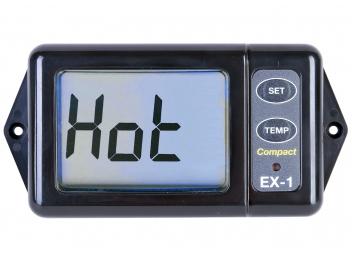 Abgas-Temperaturanzeige mit Alarm