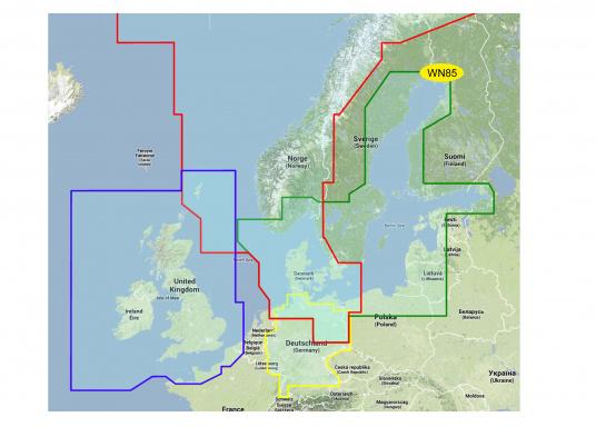MAX-N Baltic Sea and Denmark WN85