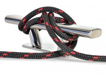 DOCK-FLEX - Mooring Line / anthracite / red