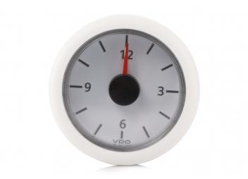 Horloge à quartz Viewline blanche