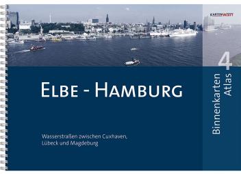 Binnenkarten Atlas 4 Elbe-Hamburg