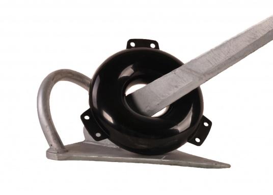 PVC-Ring Fender, inflatable / black