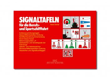 Signaltafeln für Schifffahrt