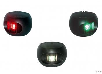 LED Navigation Lights Set Series 34 / Black Housing