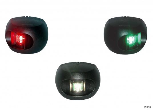 LED Positionsleuchten Set Serie 34 / schwarzes Gehäuse