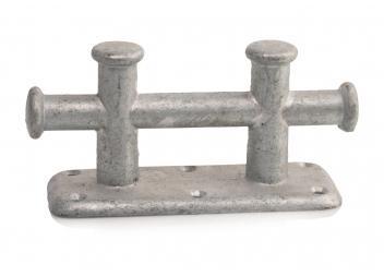 Galvanized Steel Double Bollard