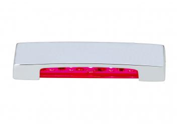 LED Stufenleuchte ARENDA, rot / nach unten strahlend