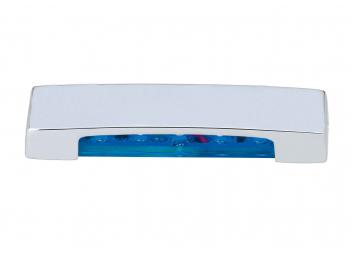 LED Stufenleuchte ARENDA, blau / nach unten strahlend