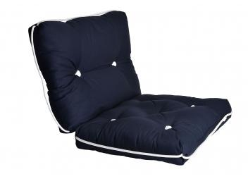 Kapok Double Cushion / marine blue