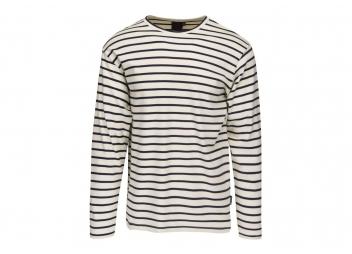 Bretonisches Herren-Shirt GREENA / weiß