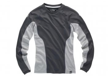 Damen Basisschicht Shirt i2 / grau-silber