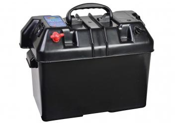 Batteriekasten / schwarz