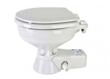 QUIET FLUSH Marine Toilet / Compact Basin / Seawater Pump
