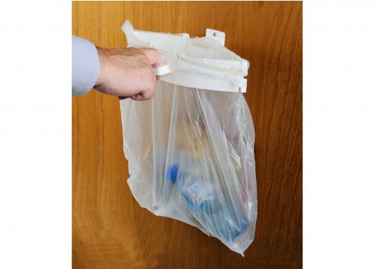 Porte sac poubelle SNAPSTER
