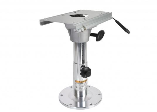 Stuhl- / Tischfuß höhenverstellbar, mit Schiebe-Aufsatz