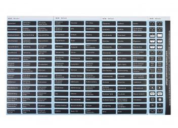Étiquettes pour panneaux électriques gamme 200