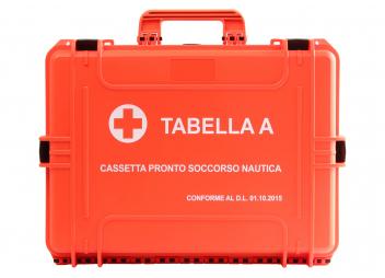 Erste-Hilfe-Koffer TABELLA A / Italien Inshore