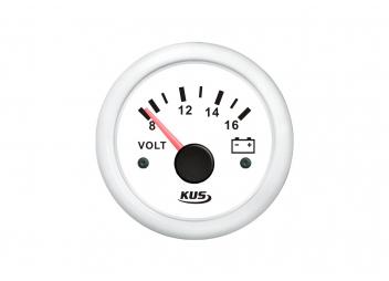 Voltmeter 8-16 V / 52 mm