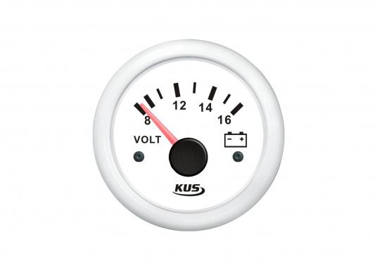Voltmètre 8-16 V / 52 mm